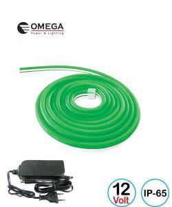 קיט ניאון לד גמיש 12V ירוק