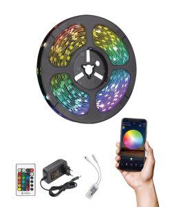 קיט סרט לד WIFI RGB כולל שנאי ושלט