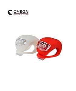 זוג תאורת LED לאופניים