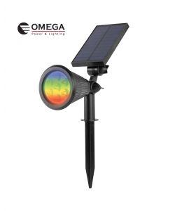 דוקרן גינה סולארי RGB