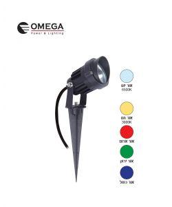ספייק LED עם זכוכיות להחלפת גוון אור 12V